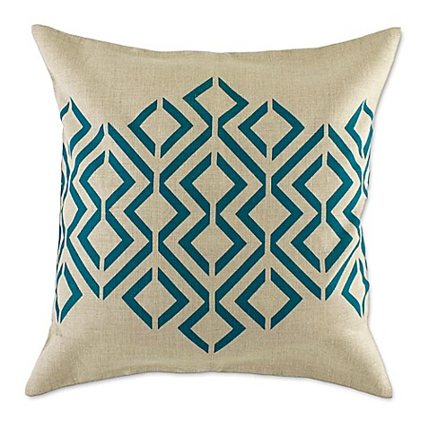 Throw Pillow Covers Bed Bath Beyond : Geo Diamond Throw Pillow Cover - Bed Bath & Beyond