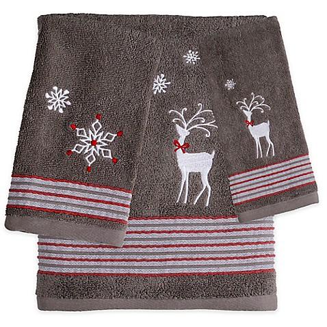 Saturday Knight Reindeer Games Bath Towel Bed Bath Amp Beyond