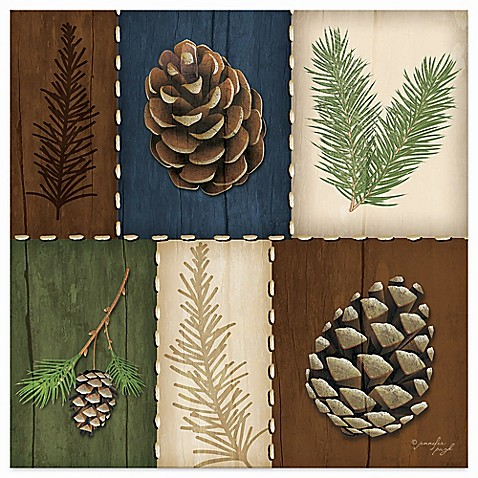 Buy Thirstystone 174 Pine Cone And Sprigs Coaster From Bed