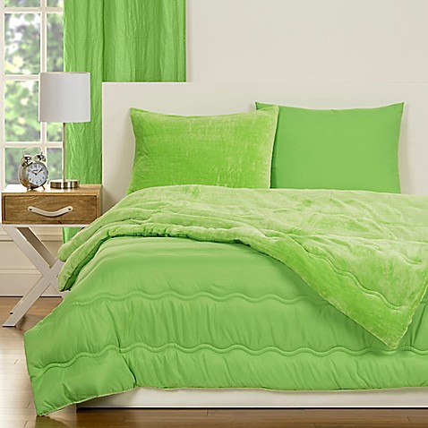Buy Crayola Playful Plush 2 Piece Twin Comforter Set In Green From Bed Bath Beyond