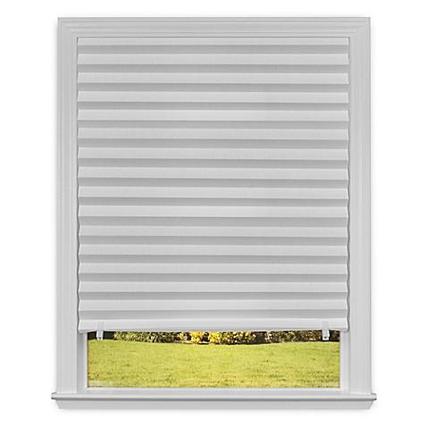 Redi Shade Light Filtering Cordless Paper Window Shade