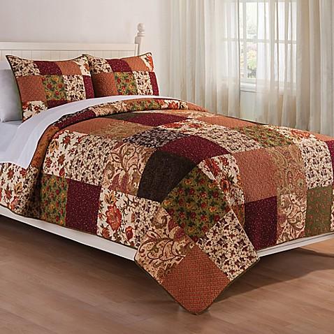 Rustic Lodge Reversible Quilt Set Bed Bath Amp Beyond
