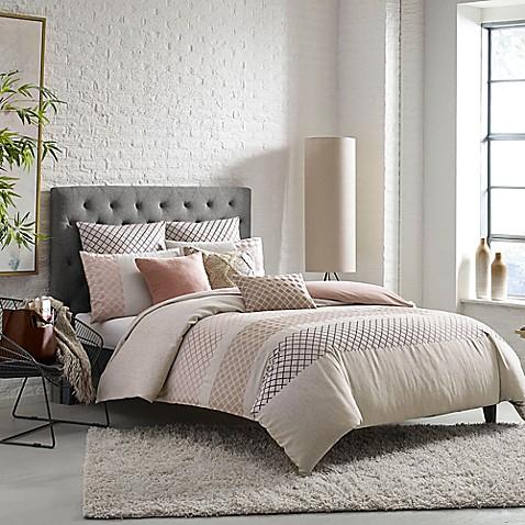Kas room nola duvet cover bed bath beyond for Housse de couette sears