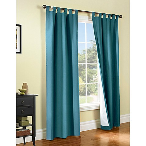Thermalogic Weathermate Tab Top Window Curtain Panel Pair Bed Bath Beyond