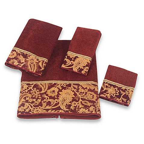 Bed Bath And Beyond Maroon Hand Towels