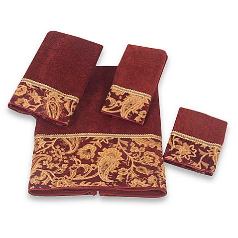 Avanti Arabesque Bath Towel Collection Bed Bath Amp Beyond