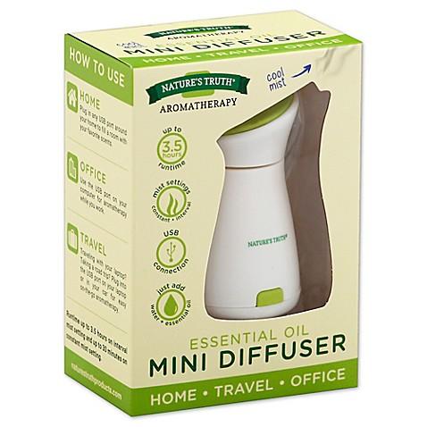 Nature S Truth 174 Aromatherapy Essential Oil Mini Diffuser
