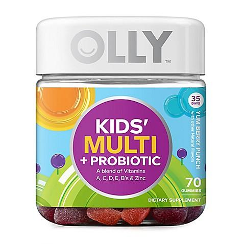 OLLY® 70-Count Kids' Multi + Probiotic Vitamin Gummies ...