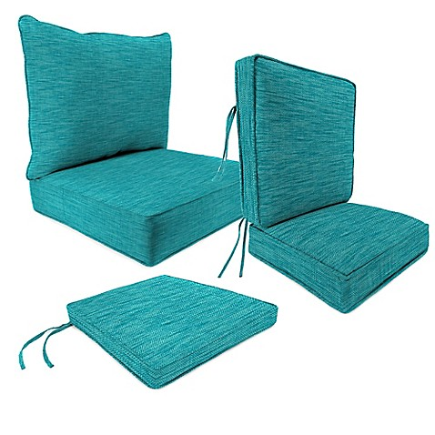 Outdoor Patio Cushions In Remi Lagoon Bed Bath Amp Beyond