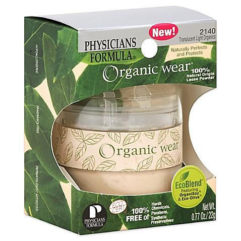Physicians formula organic loose powder