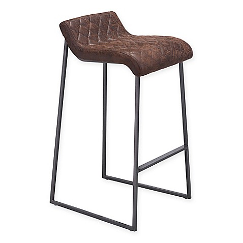 Zuo 174 Father Bar Stools Set Of 2 Bed Bath Amp Beyond