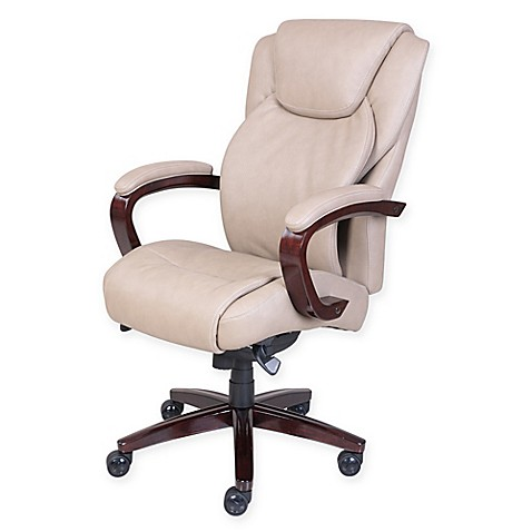 La Z Boy 174 Linden Bonded Leather Executive Office Chair In