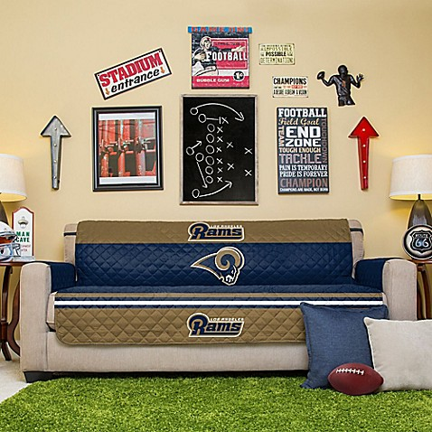 Buy Nfl Los Angeles Rams Sofa Cover From Bed Bath Amp Beyond