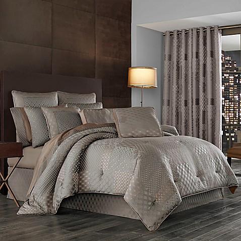 J Queen New York Aston Comforter Set Bed Bath Amp Beyond