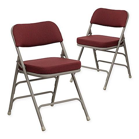 Flash Furniture Hercules Padded Folding Chairs Set Of 2