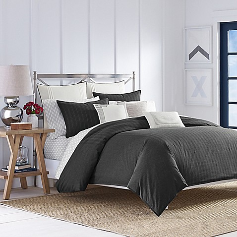 Buy Nautica 174 Caldwell Full Queen Comforter Set In Grey