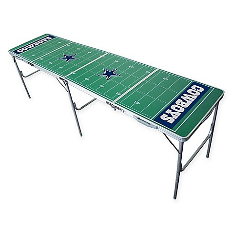 Nfl Dallas Cowboys Tailgate Table Bed Bath Amp Beyond