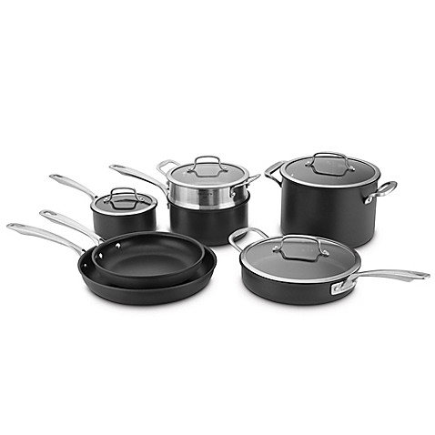 Cuisinart 174 Ds Induction Hard Anodized 11 Piece Cookware