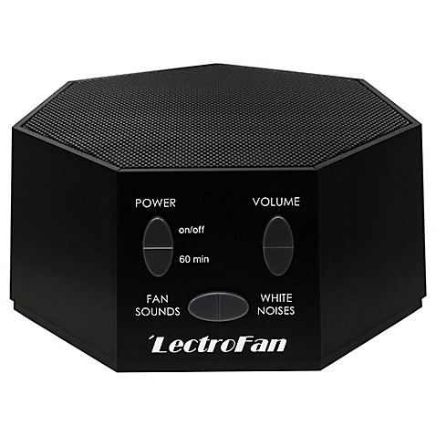LectroFan Sound Therapy Machine in Black at Bed Bath & Beyond in Cypress, TX | Tuggl