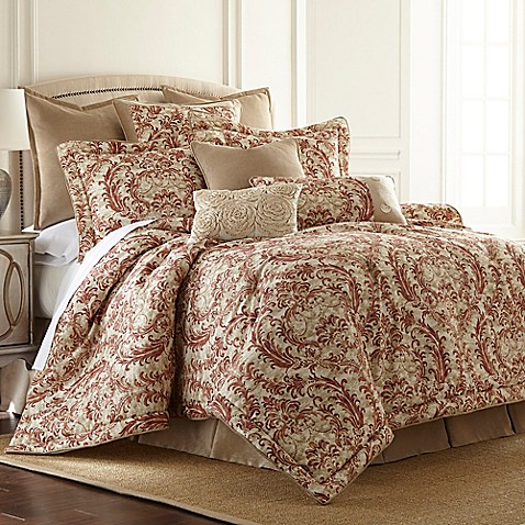 Sherry Kline Savannah Comforter Set In Cinnamon Bed Bath