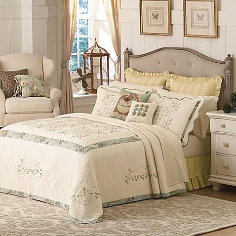 Buy Mary Jane S Home Vintage Treasure Queen Bedspread In