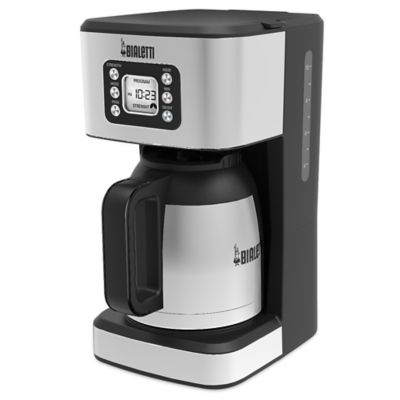 Bed Bath And Beyond Thermal Coffee Maker : Buy Bialetti Thermal 35017 10-Cup Coffee Maker in Black from Bed Bath & Beyond