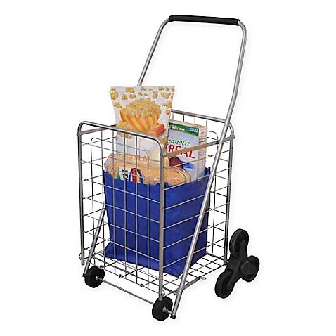 Buy 3 Wheel Stair Climbing Folding Cart From Bed Bath Amp Beyond