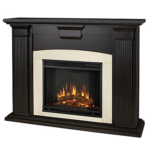 Buy Real Flame Adelaide Electric Fireplace In Black From Bed Bath Beyond