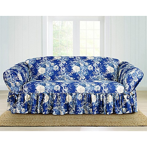 Buy Sure Fit 174 Ballad Bouquet By Waverly Sofa Slipcover In