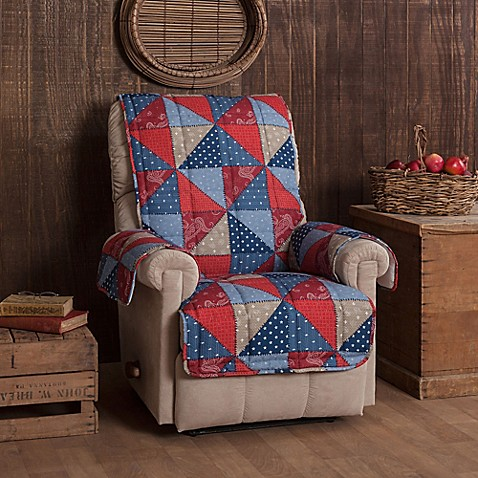 Innovative Textile Solutions Americana Recliner Or Wing