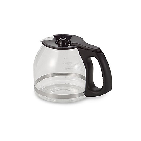 Mr Coffee 174 12 Cup Replacement Decanter With Ergonomic