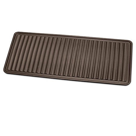 buy the boottray 16 inch x 36 inch boot tray in brown