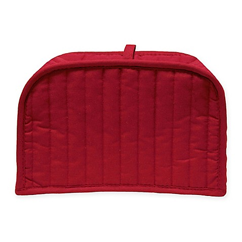 Ritz 174 Quilted 2 Slice Toaster Cover In Paprika Bed Bath