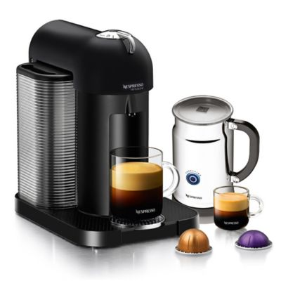 Nespresso Coffee Maker Bed Bath And Beyond : Nespresso VertuoLine Coffee and Espresso Maker Bundle in Matte Black - Bed Bath & Beyond