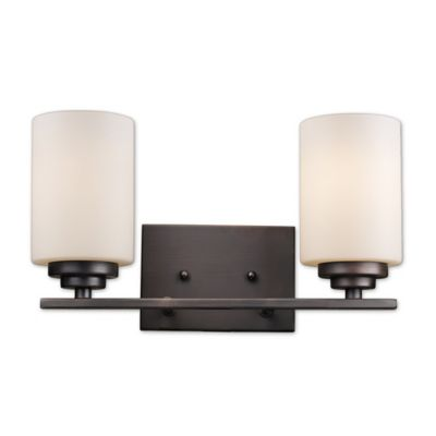 Wall Lamps Bed Bath Beyond : Bel Air Mod Space 2-Light Wall Sconce - Bed Bath & Beyond