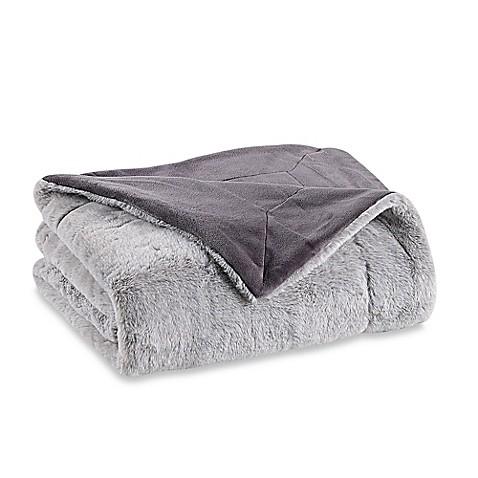 Berkshire Blanket Grace Tipped Fur Throw Blanket at Bed Bath & Beyond in Cypress, TX | Tuggl
