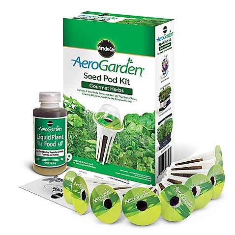 Miracle Gro 174 Aerogarden Gourmet Herbs Seeds 9 Pod Kit