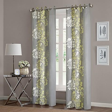 Buy Madison Park Anaya 63 Inch Cotton Window Curtain Panel