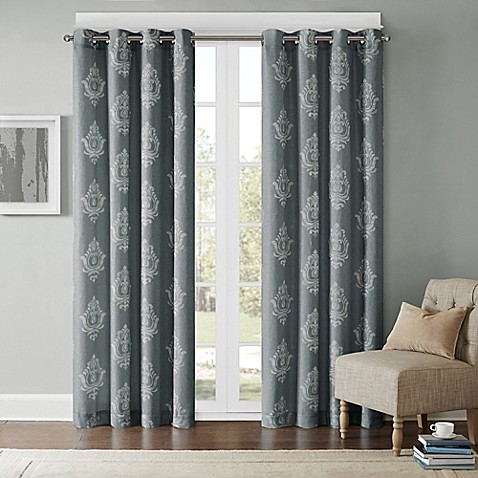 Buy Madison Park Montclair 84 Inch Window Curtain Panel In