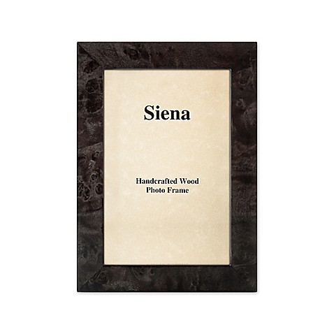 Siena 8-Inch x 10-Inch Burlwood Photo Frame in Grey at Bed Bath & Beyond in Cypress, TX | Tuggl