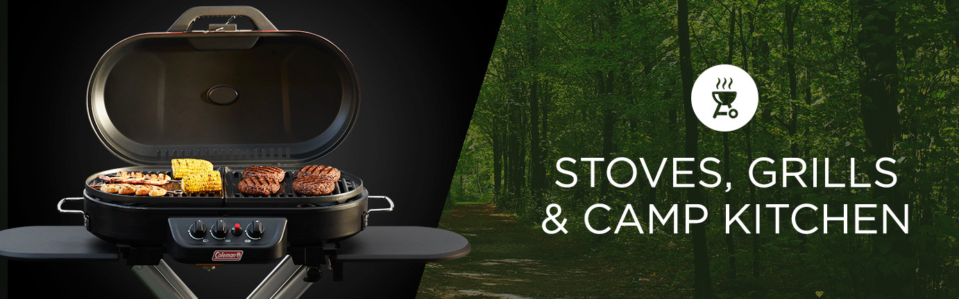 Stoves, Grills, and Camp Kitchen
