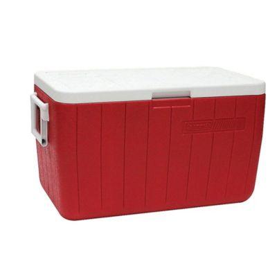 Recipiente Termoplástico vermelho 48QT (45,4L)