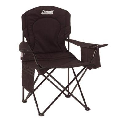 Cadeira Dobrável com Cooler Preta