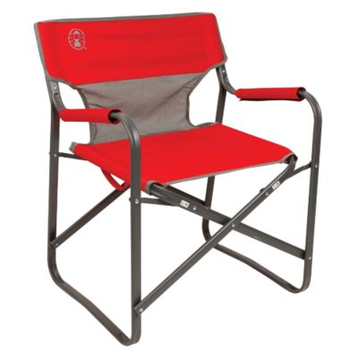 Cadeira Dobrável Steel Deck Vermelha