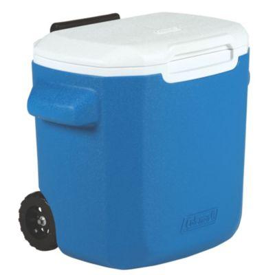 Recipiente Termoplástico azul c/ rodas 16QT (15,1L)