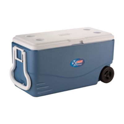 Recipiente Termoplástico azul c/ rodas 100QT (95 L)- XTREME