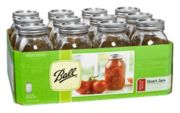 Ball® Regular Mouth 32oz Quart jars