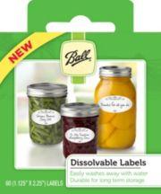 Ball® Dissolvable Labels