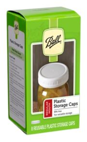 Ball® Regular Mouth Plastic Storage Caps