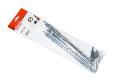 Steel Pegs 6.3mm x 225mm (10 Pack)
